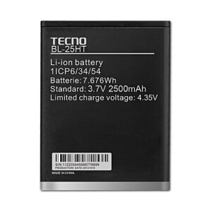 Tecno Camon C7 (BL-25HT) Battery Replacement